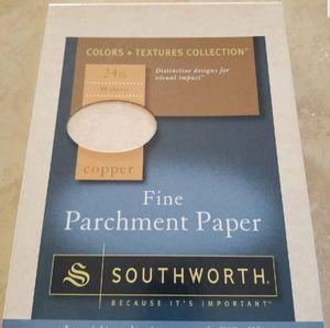 63 pieces parchment paper